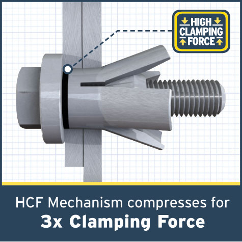 High Clamping Force Hollo Bolt For Structural Connections