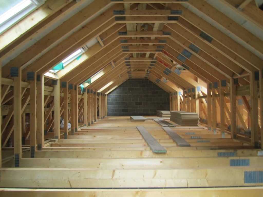 Attic trusses from Pasquill top off £1 7 million luxury