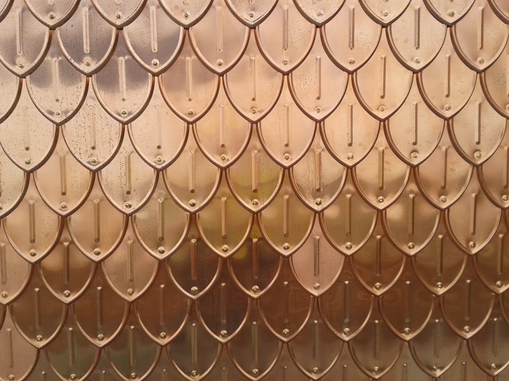 Vmzinc Ornaments Make Shingles For Harrods Roof