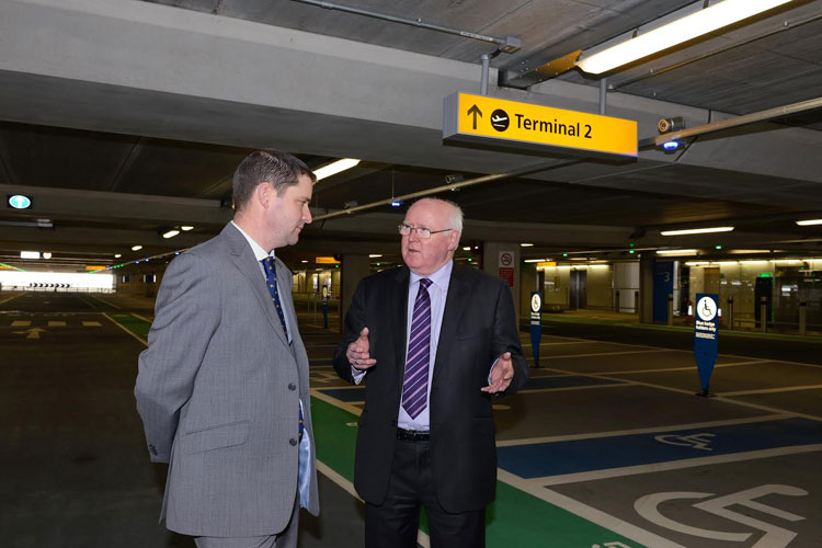 Rt Hon Tom Clarke visits Heathrow Terminal 2 to view Bison's £1.15M works -  netMAGmedia Ltd