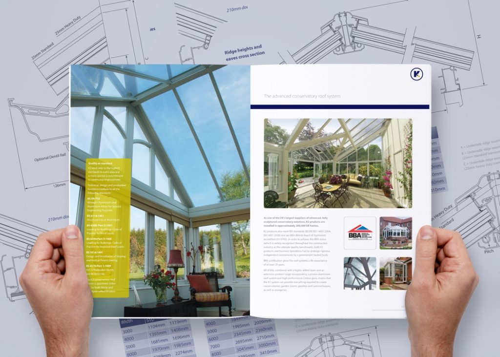 K2 Conservatory Roof Technical Brochure Now Available