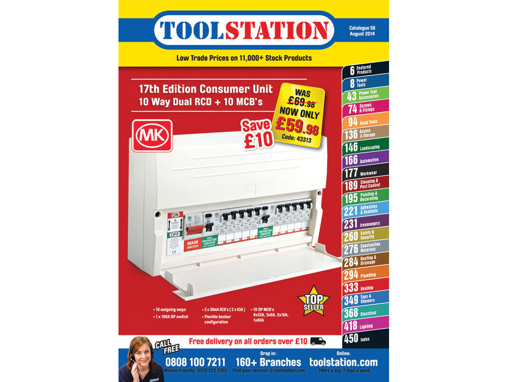 Toolstation launches biggest ever catalogue | netMAGmedia Ltd  Toolstation.com