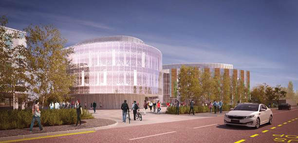 Atkins designed university of edinburgh development gets - International office university of edinburgh ...