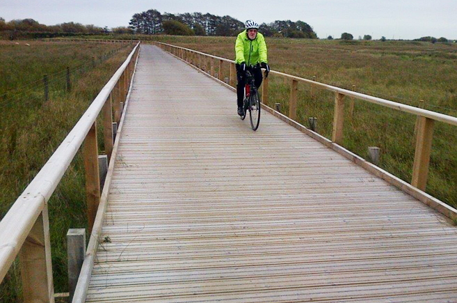 New JB Antislip Plus® Timber Boardwalk For The National