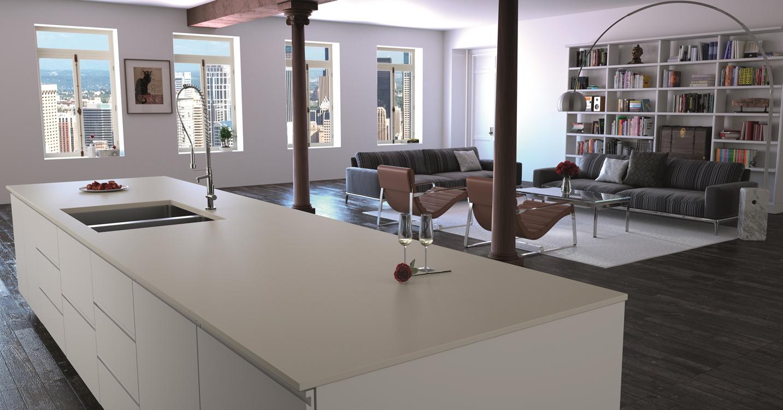 The new urban style quartz worksurface from compac netmagmedia ltd - Empresas construccion valencia ...