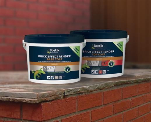 Brick Effect Render From Bostik Netmagmedia Ltd