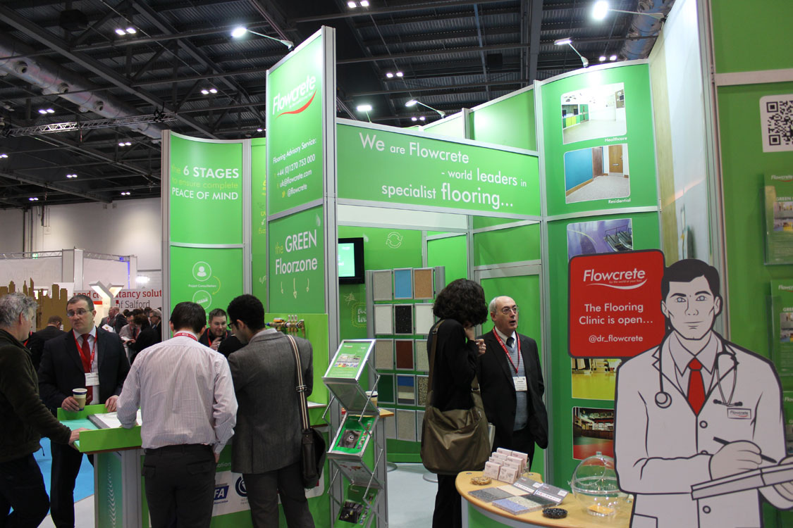 Ecobuild Matchmaking - Business District Stand G