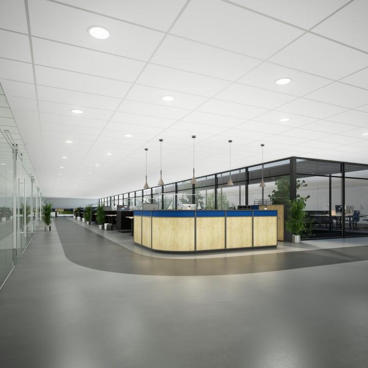 Rockfon Launches Their Whitest Ceiling Tile Ever Rockfon Blanka