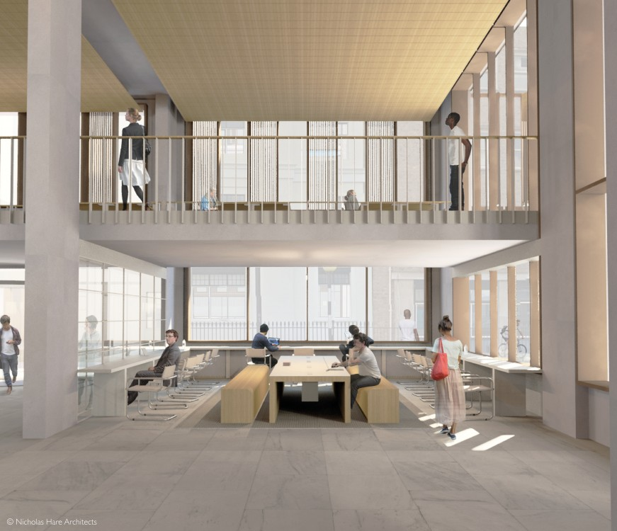 Planning Approval For UCL's New Student Centre