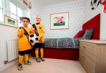 Harborough Town Rovers u7s Danika Swinny & Harry Tughan