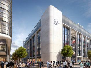 The new headquarters will accommodate up to 1,200 BBC staff