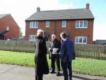 Andrea Leadsom MP at Croughton