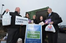 Novus - Bathgate Office - Food Donation