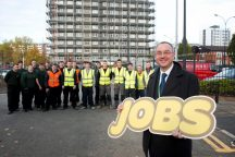 New apprentice recruits start work