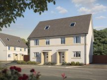 Artist's impression of Persimmon home