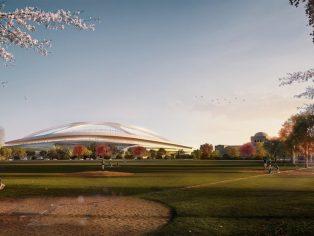 New National Stadium Tokyo, Japan