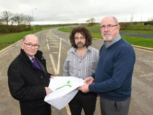 Trowbridge link road construction completed