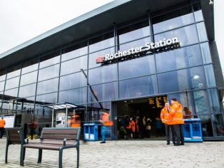 Rochester station opens for business