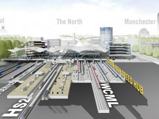 Farrells vision for Northern Gateway HS2 hub at Crewe is unveiled