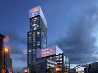 Shoreditch Hotel Gensler - Dusk
