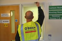 O'Brien Contractors shows its support for local charity Myton Hospice