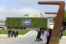 Campus Heart, Living Wall & screen