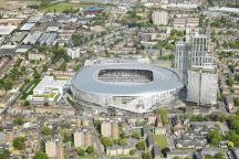 THFC - West Aerial View - July 2015
