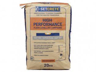 Setcrete™ High Performance floor levelling compound