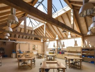 The Design Technology Block at St James School
