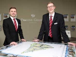 Redrow Midlands sales graduates Jake Page & Lewis Kavanagh