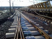 New track and points at Doncaster