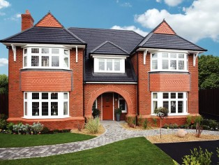 An example of the five-bedroom Blenheim from Redrow's Heritage Collection.