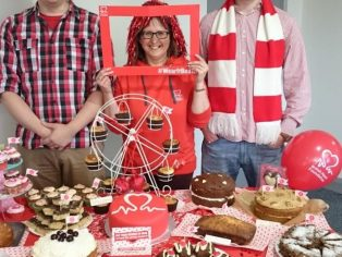 Garador's Kim Kerswell and work colleagues help raise funds for the British Heart Foundation