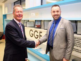 Andrew Glover, GGF's new President