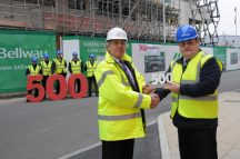 Bellway Homes celebrates considerate milestone
