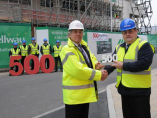 Bellway Homes celebrates considerate milestone