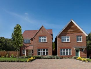 Example of Redrow's Heritage Collection homes