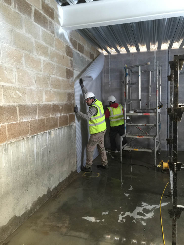 Newton Specialist Basement Contractor Completes