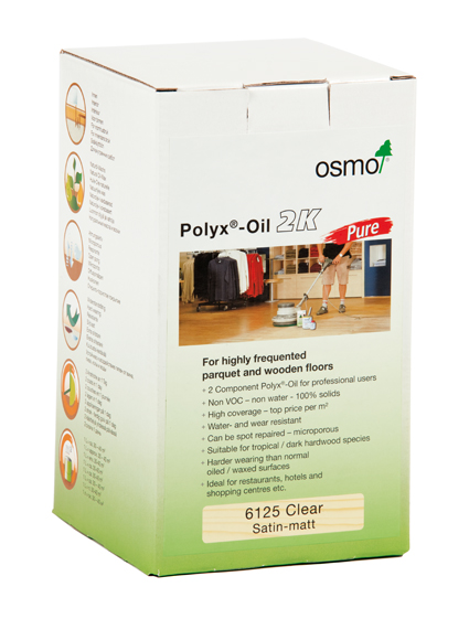 Osmo S Polyx 174 Oil 2k Pure Ideal Solution For Retail