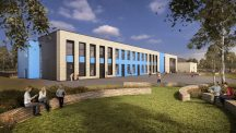Visualisation of the new Moorlands Free School
