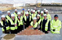 Topping Out with Brunswick Developments