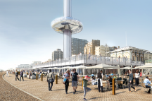 British Airways i360 © Marks Barfield