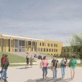 Green light for 403 homes and an all-through school in Bracknell © Nicholas Hare Architects