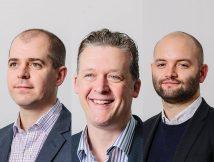 L-R: Mike Hall, Phillip Pollington, Joe Dickeson, Jefferson Sheard Architects