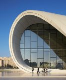 Selected from 30 projects from around the world, the Jockey Club Innovation Tower designed by Zaha Hadid Architects wins a RIBA Award for International Excellence and the Heydar Aliyev Center is shortlisted for the RIBA International Prize