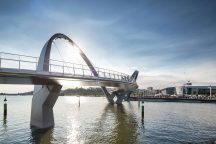 Elizabeth Quay Bridge – Perth, Australia - Arup - Photo by Arup