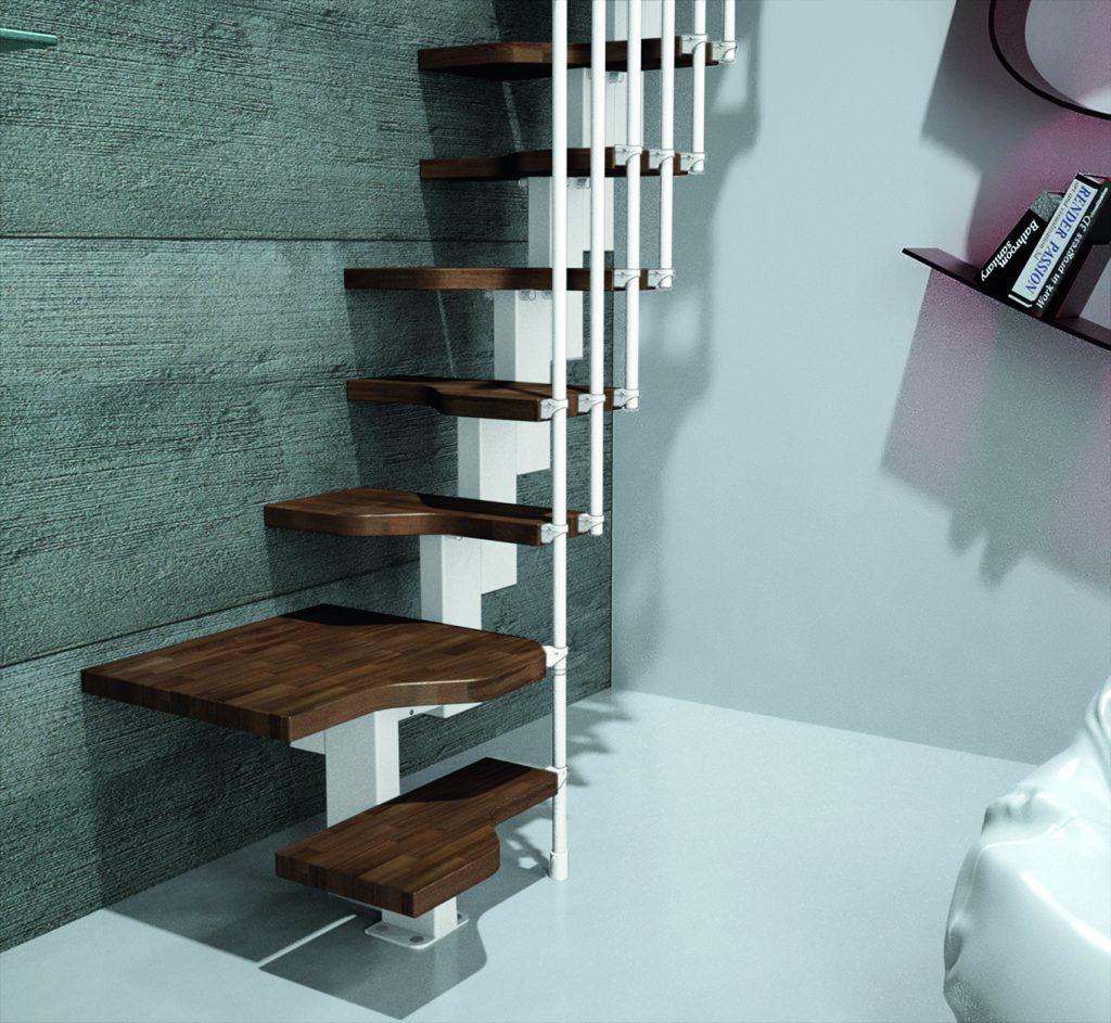27 Really Cool Space Saving Staircase Designs: Premier Loft Ladders Add Space Saving Staircase
