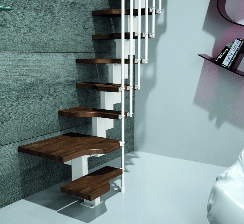 Premier Loft Ladders Add Space Saving Staircase