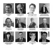 Image shows a sample of speakers who are part of the Materials 2017 conference programme.