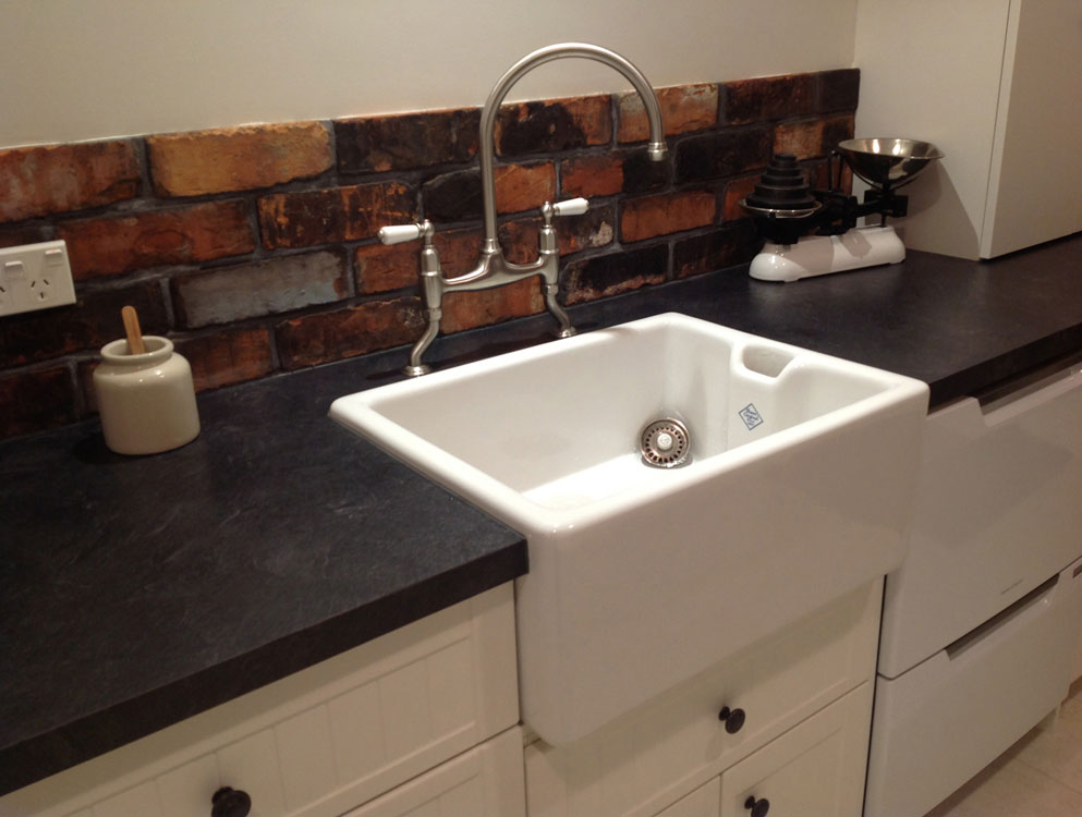 kitchen with belfast sink shaws of darwen belfast sink netmagmedia ltd 6493